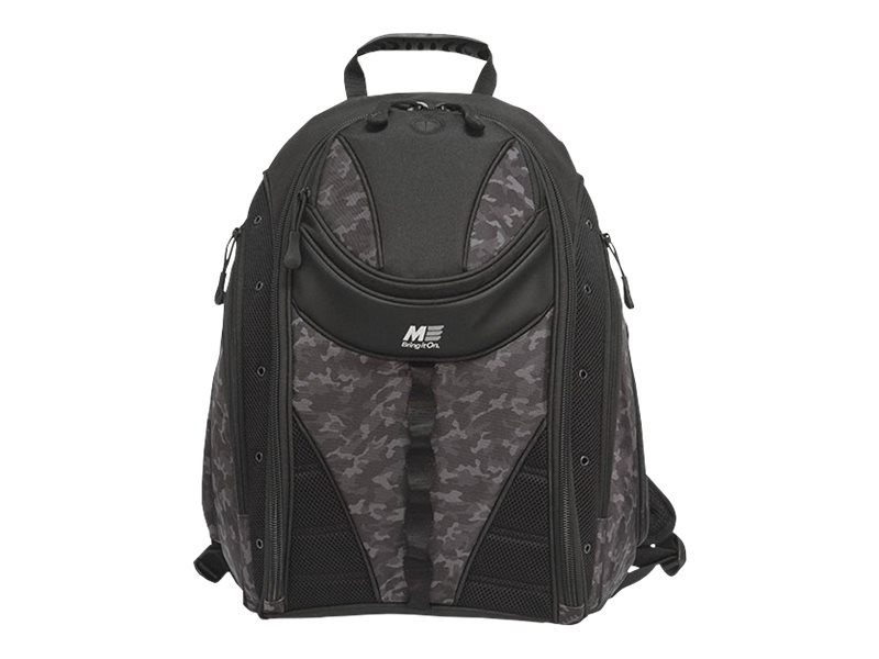 Mobile Edge Express Backpack 16 PC 17 Mac, Black w  Camo Trim, MEBPE62, 18892246, Carrying Cases - Notebook