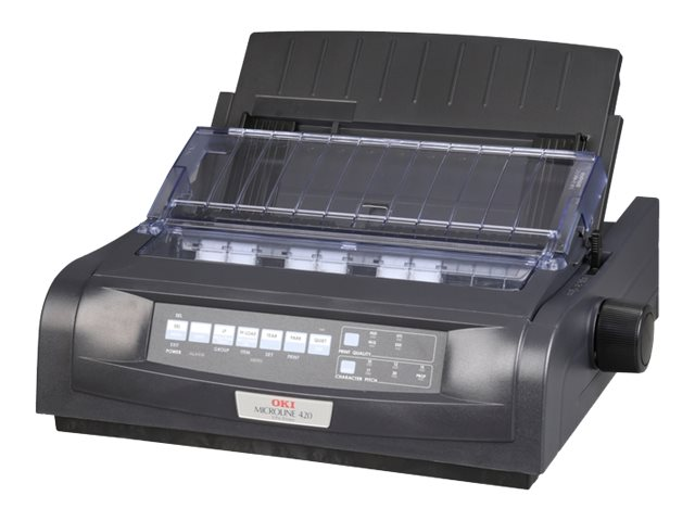 Oki MicroLine 420n Printer - Black (Narrow Carriage), 91909704