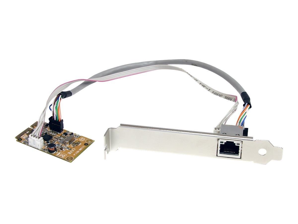 StarTech.com Mini PCI Express Gigabit Ethernet Network Adapter NIC Card, ST1000SMPEX