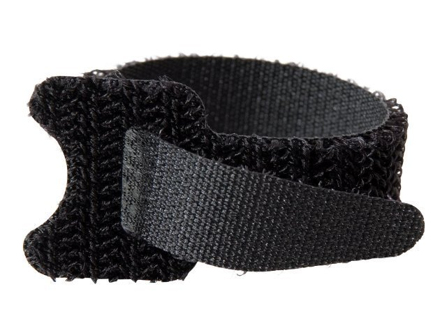 C2G 6 Hook & Loop Cable Management Straps - 12-pack Black, 29858, 4763179, Premise Wiring Equipment