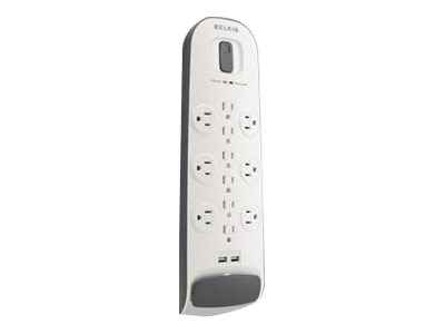 Belkin Surge Protector 12-outlet, 3996 Joules, 6ft Power Cord, (2) USB Charging Ports, BV112050-06