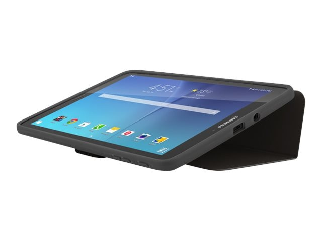 Incipio Clarion Folio for Samsung Galaxy Tab E, Black