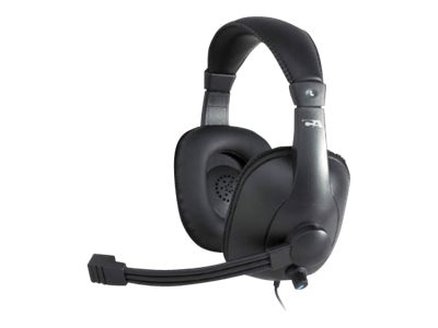 Cyber Acoustics Premium USB Stereo Headset, AC-968, 30852378, Headsets (w/ microphone)