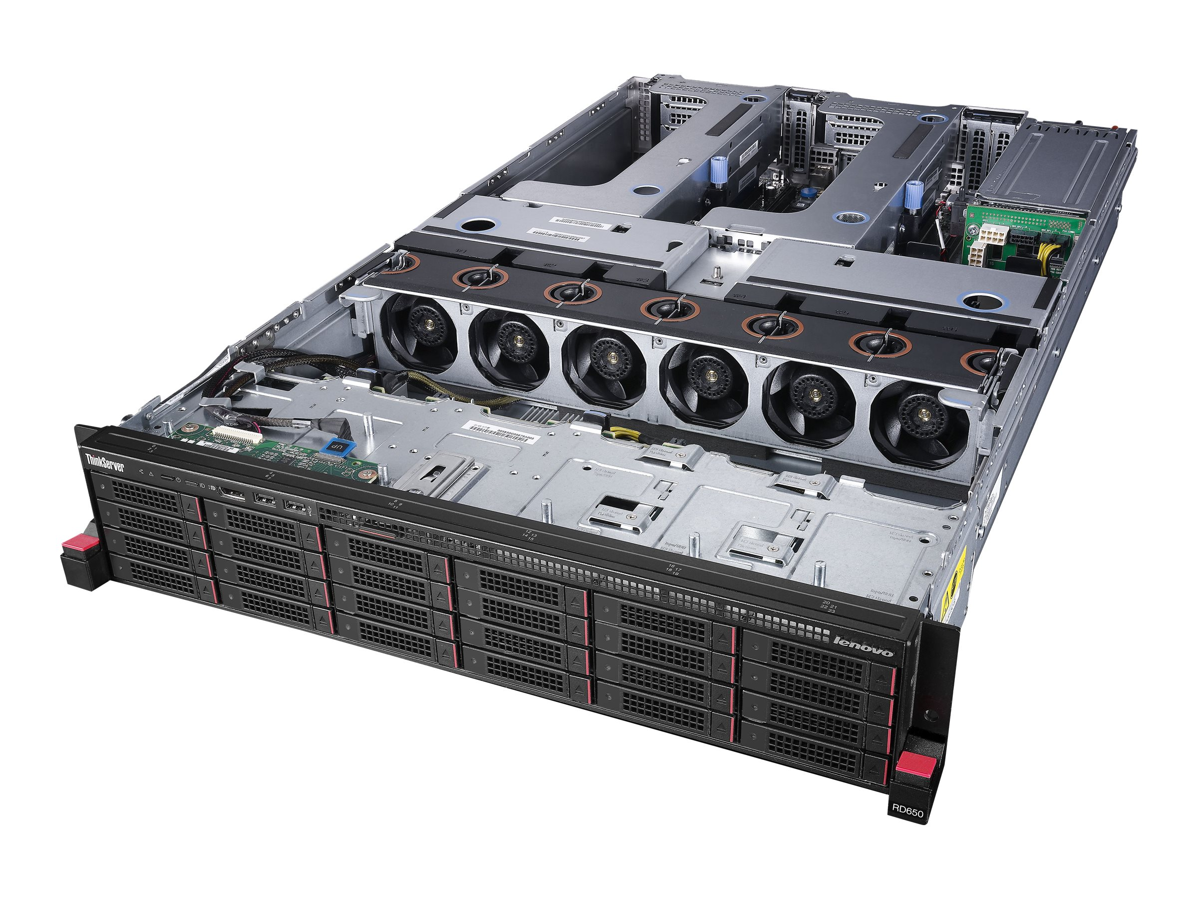 Lenovo TopSeller ThinkServer RD650 Intel 2.4GHz Xeon, 70DR000RUX, 17809738, Servers