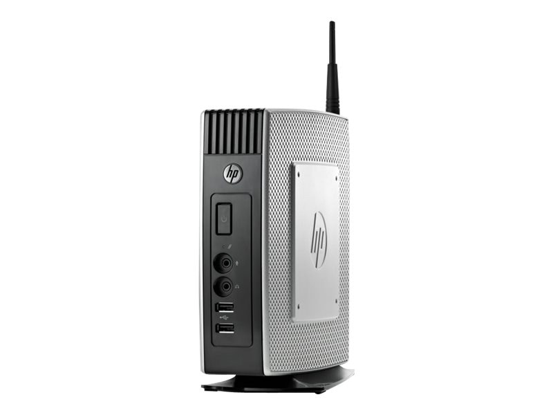 HP t5570 Thin Client VIA Nano U3500 1.0GHz 2GB RAM 2GB Flash GNIC abgn WES9, H1M17AA#ABA, 14830769, Thin Client Hardware