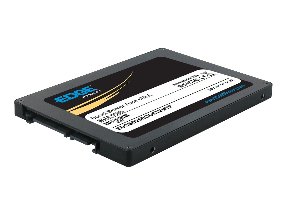 Edge 100GB Boost Server SATA 6Gb s eMLC 2.5 7mm Internal Solid State Drive, PE241339