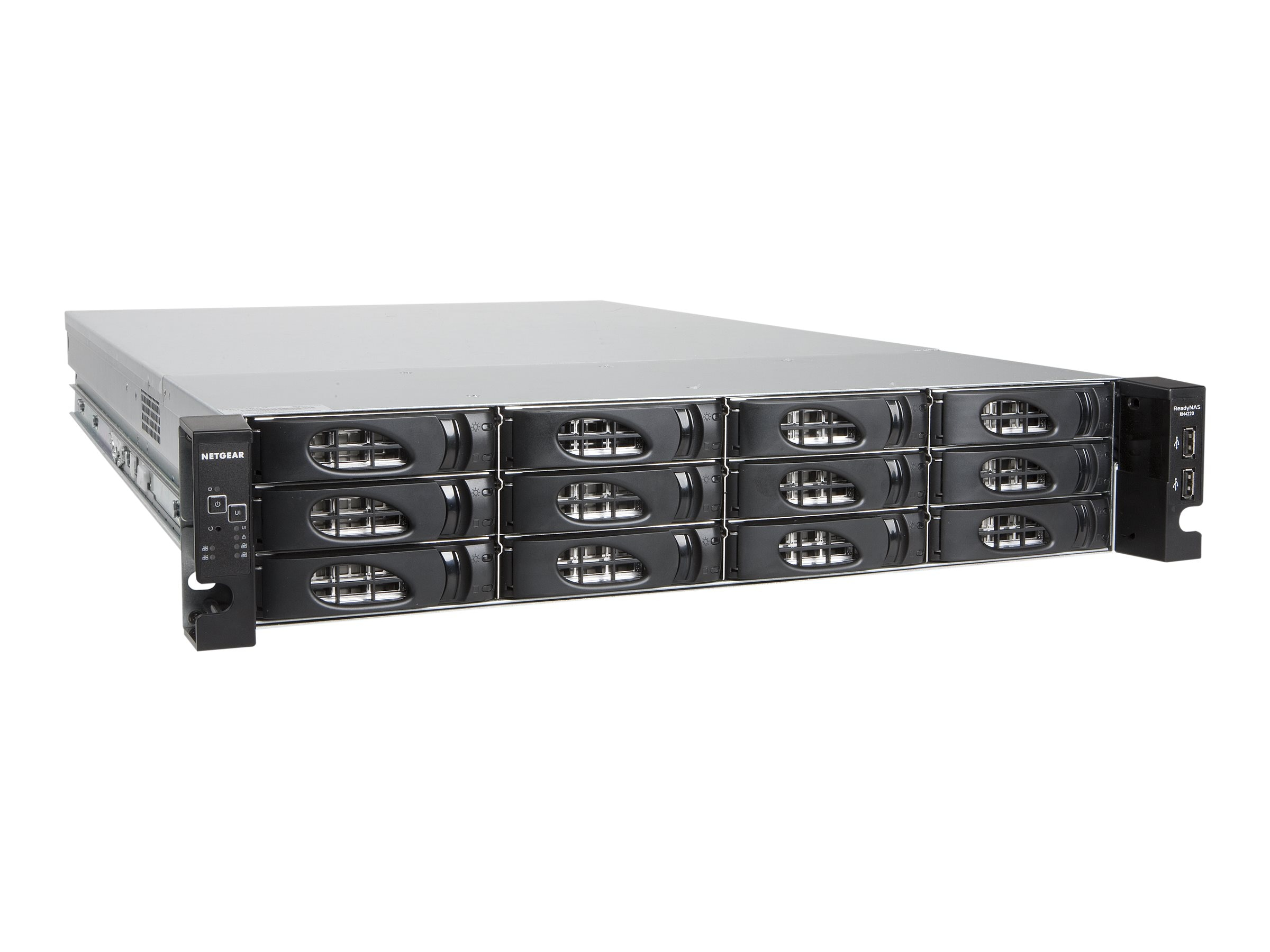 Netgear 4220X, 2U 10GBaseT 12X3TB ENT, RN422X123-100NES, 16055735, Network Attached Storage