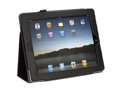 Griffin Elan Folio Crackled for iPad 2, iPad 3, Black, GB03853, 13808990, Protective & Dust Covers