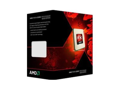 AMD Processor, AMD 6C FX-6350 3.9GHz 8MB L3 Cache 125W Box, FD6350FRHKBOX
