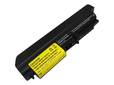 Ereplacements Replacement High Capcity Battery, Li-Ion 10.8V 4800mAh for IBM Thinkpad R61 T61 Series, 41U3198-ER, 12763890, Batteries - Notebook
