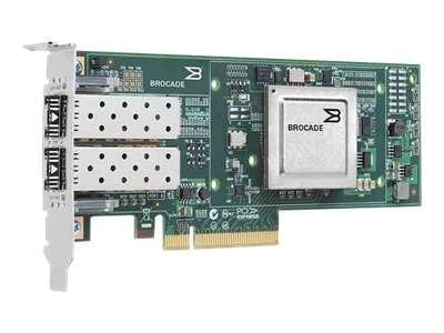 Qlogic 10 Gbps PCIe 2.0 x8 FCoE dual-port CNA, BR-1020-0010, 16910762, Network Adapters & NICs