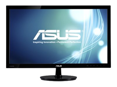 Asus 23.6 VCS247H-P Full HD LED Monitor, Black, VS247H-P