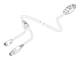 CyberData 24V Powered USB Y-Cable, 1m, 010714, 29487801, Cables