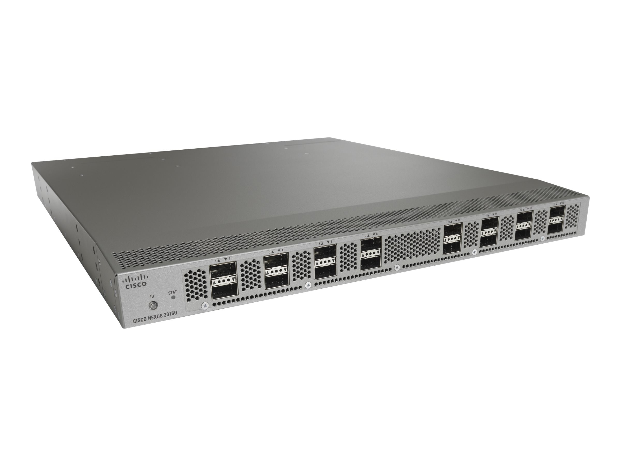 Cisco Nexus 3016, AC, Forward Airflow Port Side Exhaust, AC PSU, Base & LAN ENT License Bundle