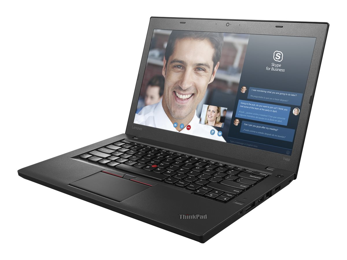 Lenovo TopSeller ThinkPad T460 2.4GHz Core i5 14in display, 20FN002JUS