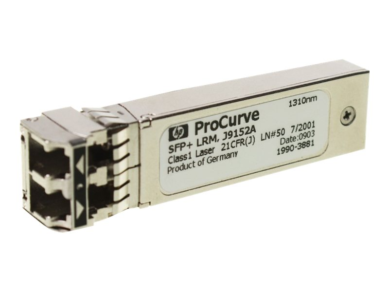 HPE X132 10G SFP+ LC LR Transceiver, J9151A, 9437305, Network Transceivers