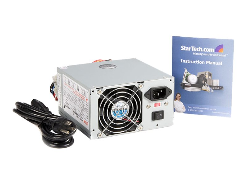 StarTech.com 250W ATX Internal Replacement Power Supply for Pentium & AMD, ATXPOWER250, 195005, Power Supply Units (internal)