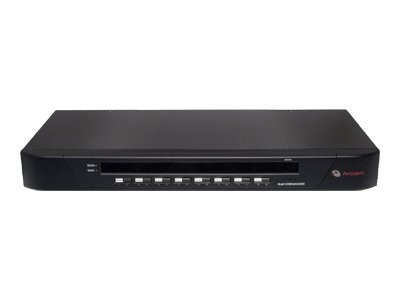 Avocent SwitchView 16-port KVM Switch 1  Local User, OSD USB, PS 2 Support, 16SV1000-001, 7220372, KVM Switches