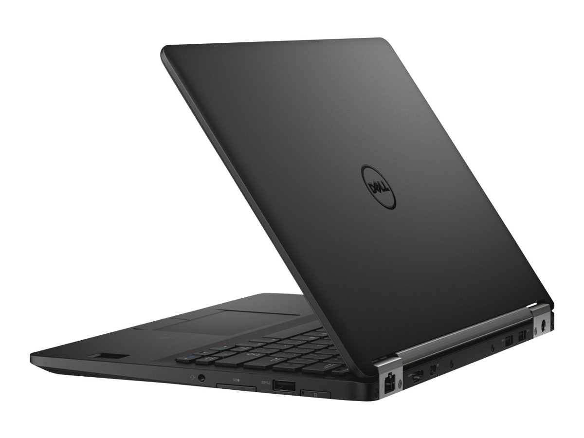 Dell Latitude E7270 Core i7-6600U 2.6GHz 8GB 256GB SSD ac BT WC 4C 12.5 HD W7P64, NY4PC