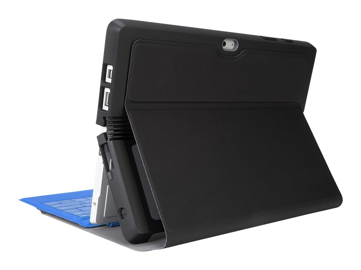Targus Protective Folio Wrap Case for MS Surface 10.8, Black, THZ617GL
