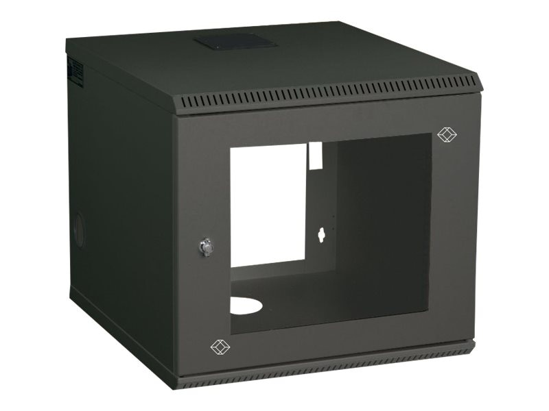 Black Box Select Wall Mount Cabinet, 19, 6U, RM2411A, 5718610, Racks & Cabinets