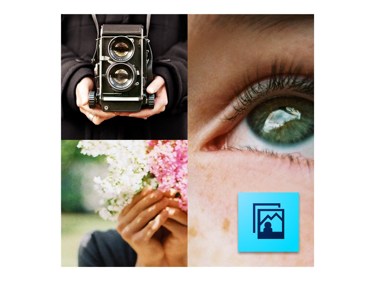 Adobe Corp. TLP Photoshop Elements 14.0 License Multiple Platforms 1 user 1+, 65263739AD01A00, 30692474, Software - Image Manipulation & Management