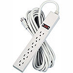Fellowes 6-Outlet Power Strip with 15ft. Cord