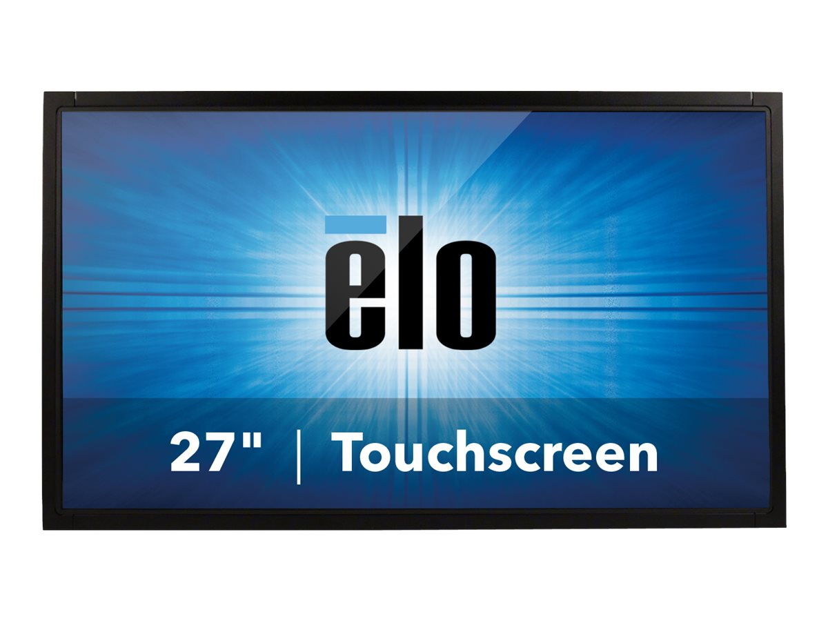 ELO Touch Solutions 27 2740L Full HD LED-LCD IntelliTouch Touchscreen Monitor, Black