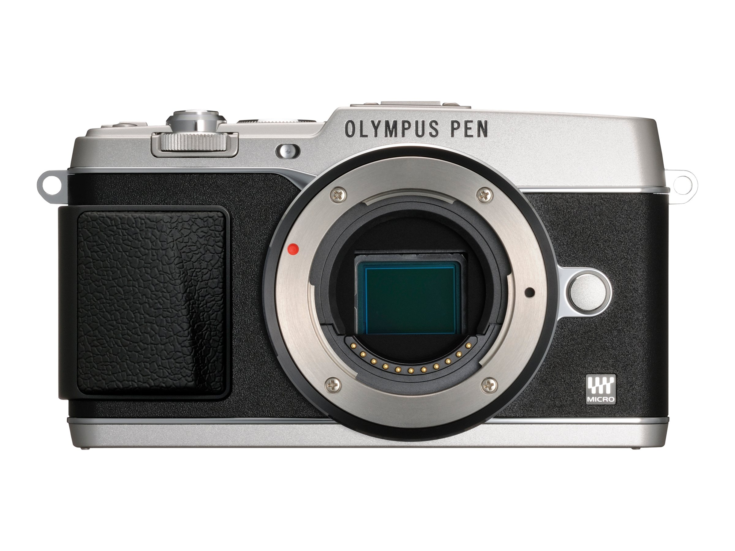 Olympus E-P5 PEN Mirrorless Digital Camera with 17mm f 1.8 Lens and VF-4 Viewfinder, Silver