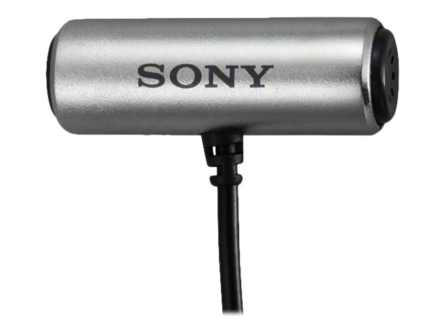 Sony Tie Clip Microphone, Omni-directional, Stereo, ECMCS3