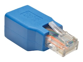 Tripp Lite Cisco Serial Console Rollover RJ45 M F Adapter, N034-001, 18227385, Adapters & Port Converters