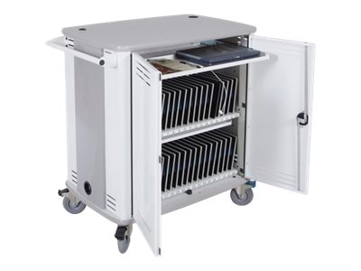 Spectrum Industries 40-Unit Carrier Charge & Sync Cart, 55441WFCWDW, 26550561, Computer Carts
