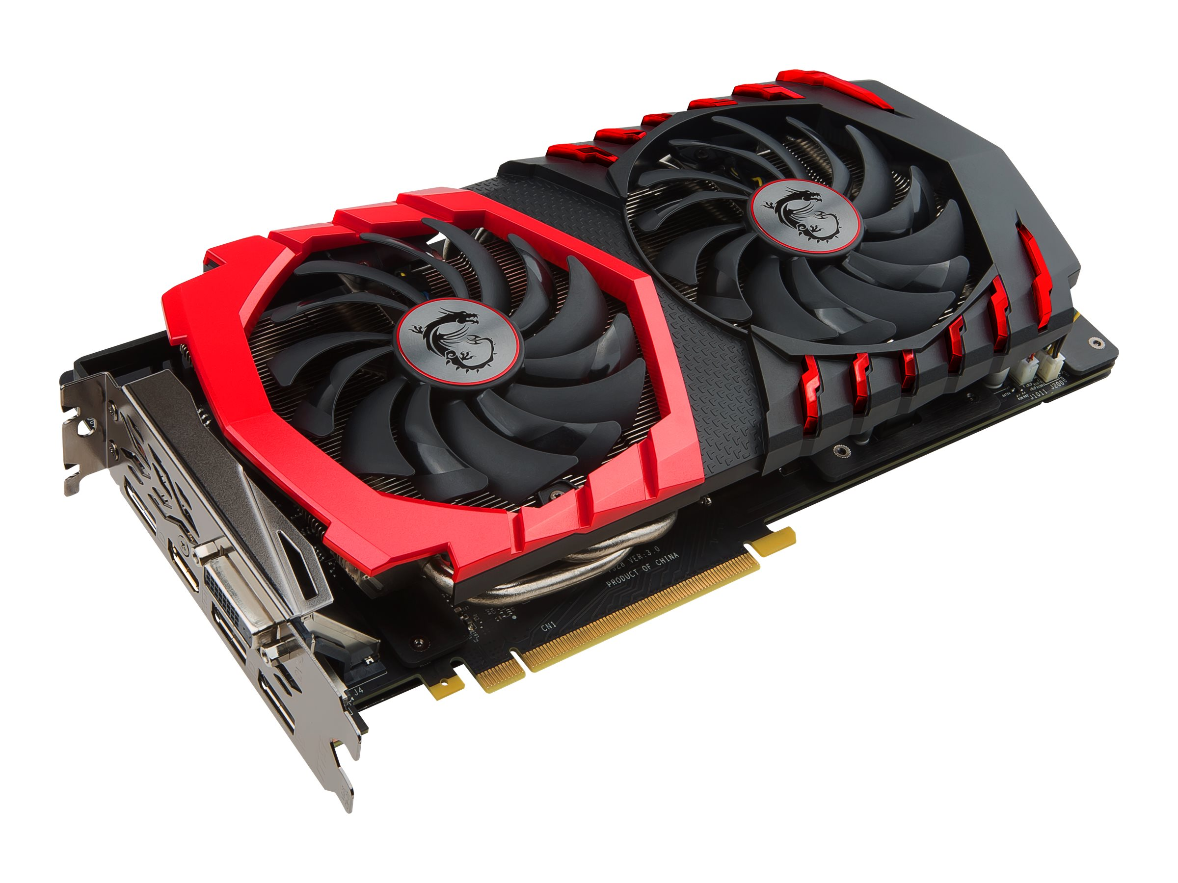 Microstar GeForce GTX 1060 PCIe 3.0 x16 Graphics Card, 3GB GDDR5, GTX 1060 GAMING X 3G