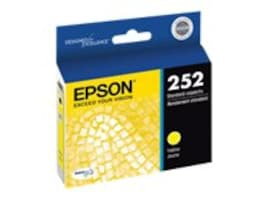 Epson T252 DuraBrite Ultra Yellow Cartdridge, T252420, 17381794, Ink Cartridges & Ink Refill Kits