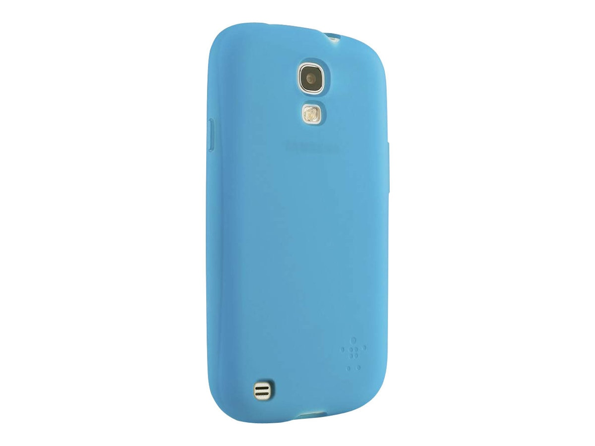 Belkin Grip Sheer Matte Case for Samsung Galaxy S4, Topaz, F8M551BTC02, 15960910, Carrying Cases - Phones/PDAs