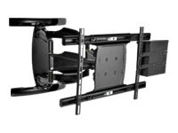 Peerless Wireless Outdoor Articulating Wall Mount for 50-80 Displays, Black, WL-ESA763PU-200, 18586724, Stands & Mounts - AV