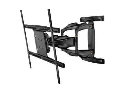 Peerless SmartMount Antimicrobial Articulating Wall Mount for 50-80 Displays, Black, SA771PU-AB, 24058661, Stands & Mounts - AV