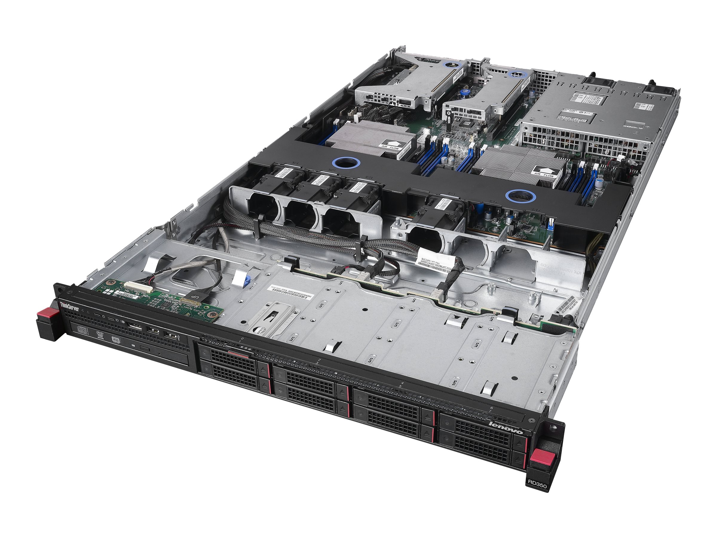 Lenovo TopSeller ThinkServer RD350 Intel 2.6GHz Xeon, 70D8001WUX, 18338958, Servers