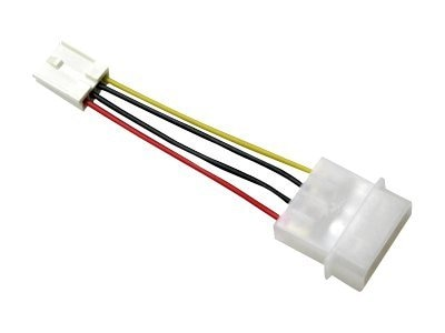 Addonics 4-pin (F) Floppy Power Cable, AA4PFFPCBL, 14437431, Cables