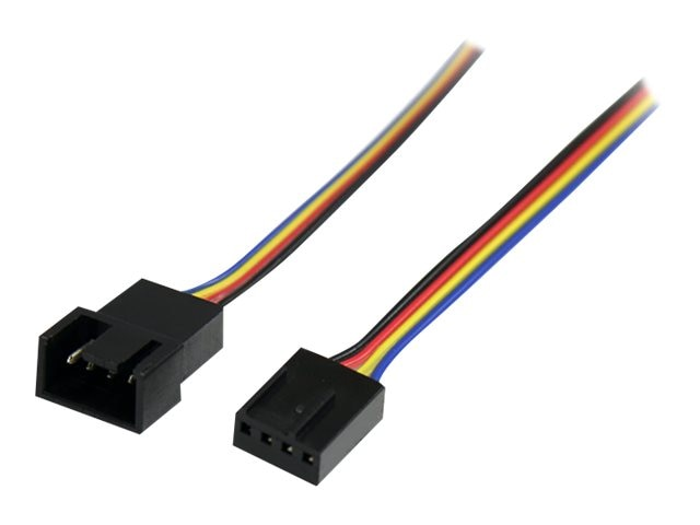 StarTech.com Fan Power Extension Cable, 4-pin, 12
