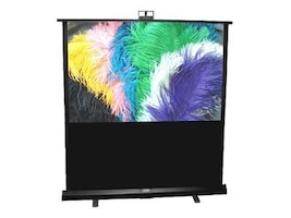 Draper Piper Portable Projection Screen, Matte White, NTSC, 84, 230163, 7820731, Projector Screens