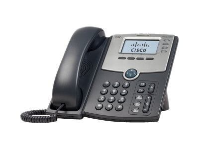 Cisco 4-Line IP Phone with Display, PoE