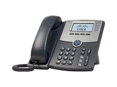 Cisco 4-Line IP Phone with Display, PoE, SPA504G-RC, 13035608, Telephones - Business Class