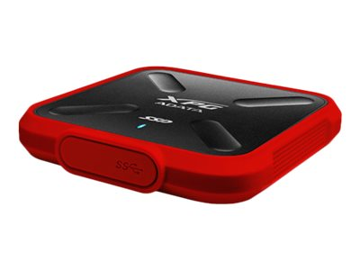 A-Data 256GB SD700X USB 3.1 Gen 1 External Solid State Drive - Red (Retail)