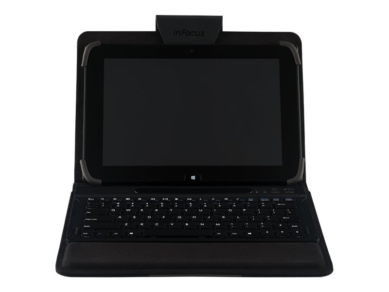 InFocus Travel Case w  Bluetooth Keyboard, INA-KBCASE-3, 25487433, Keyboards & Keypads