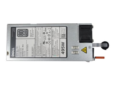Dell Power Supply Hot-Plug Redundant 495 Watts, 450-AEBM, 30934912, Power Supply Units (internal)