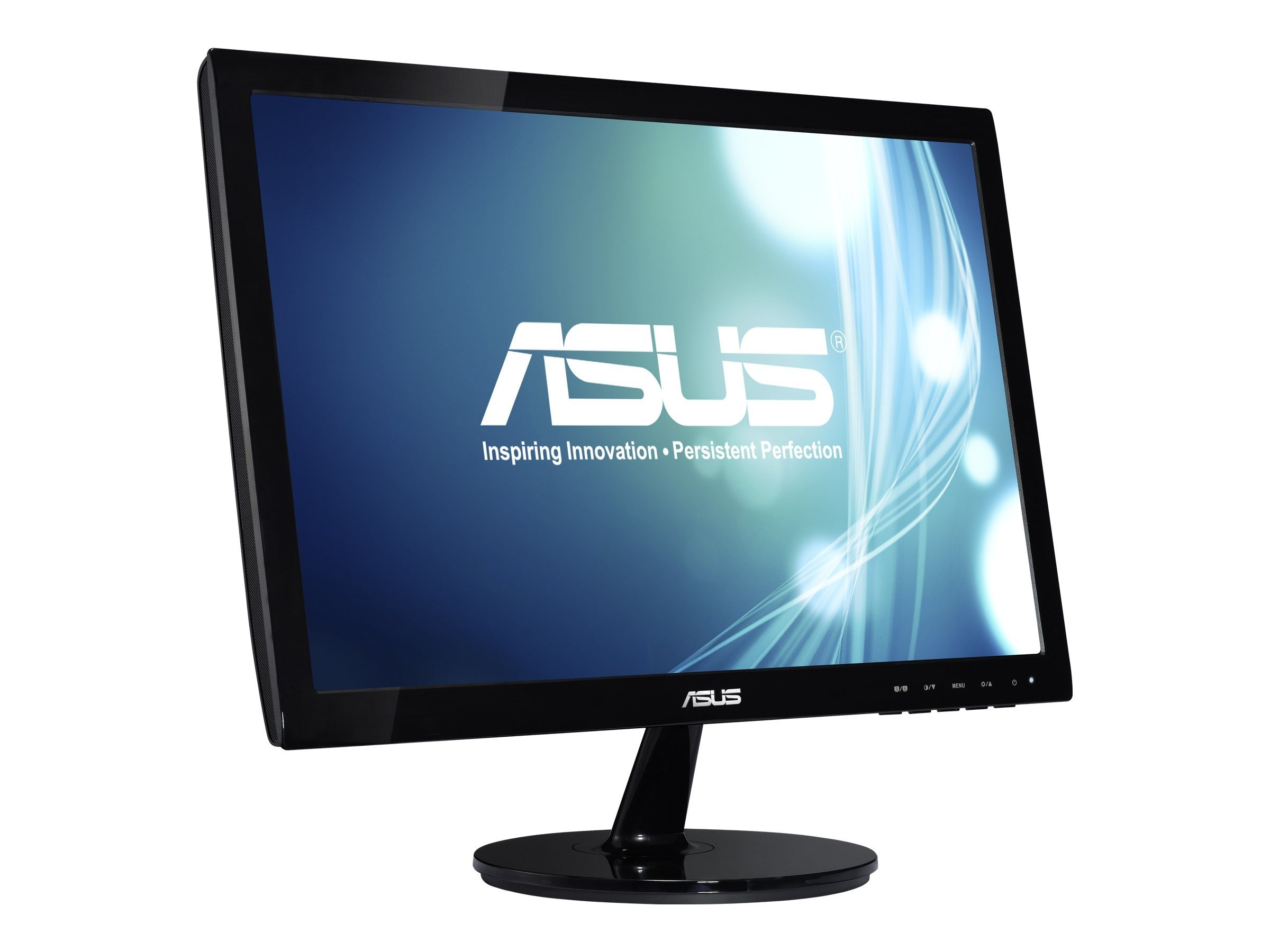 Open Box Asus 19 VS197D-P Widescreen LED-LCD Monitor, Black, VS197D-P