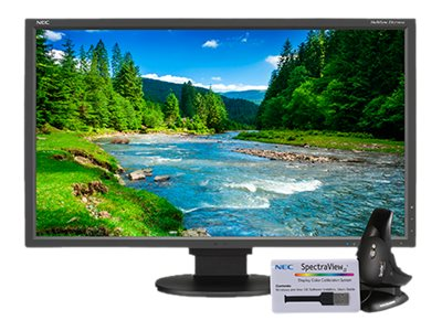 NEC 27 EA275WMi WQHD LED-LCD Monitor with SpectraViewII, Black, EA275WMI-BK-SV, 30988620, Monitors - Large-Format LED-LCD