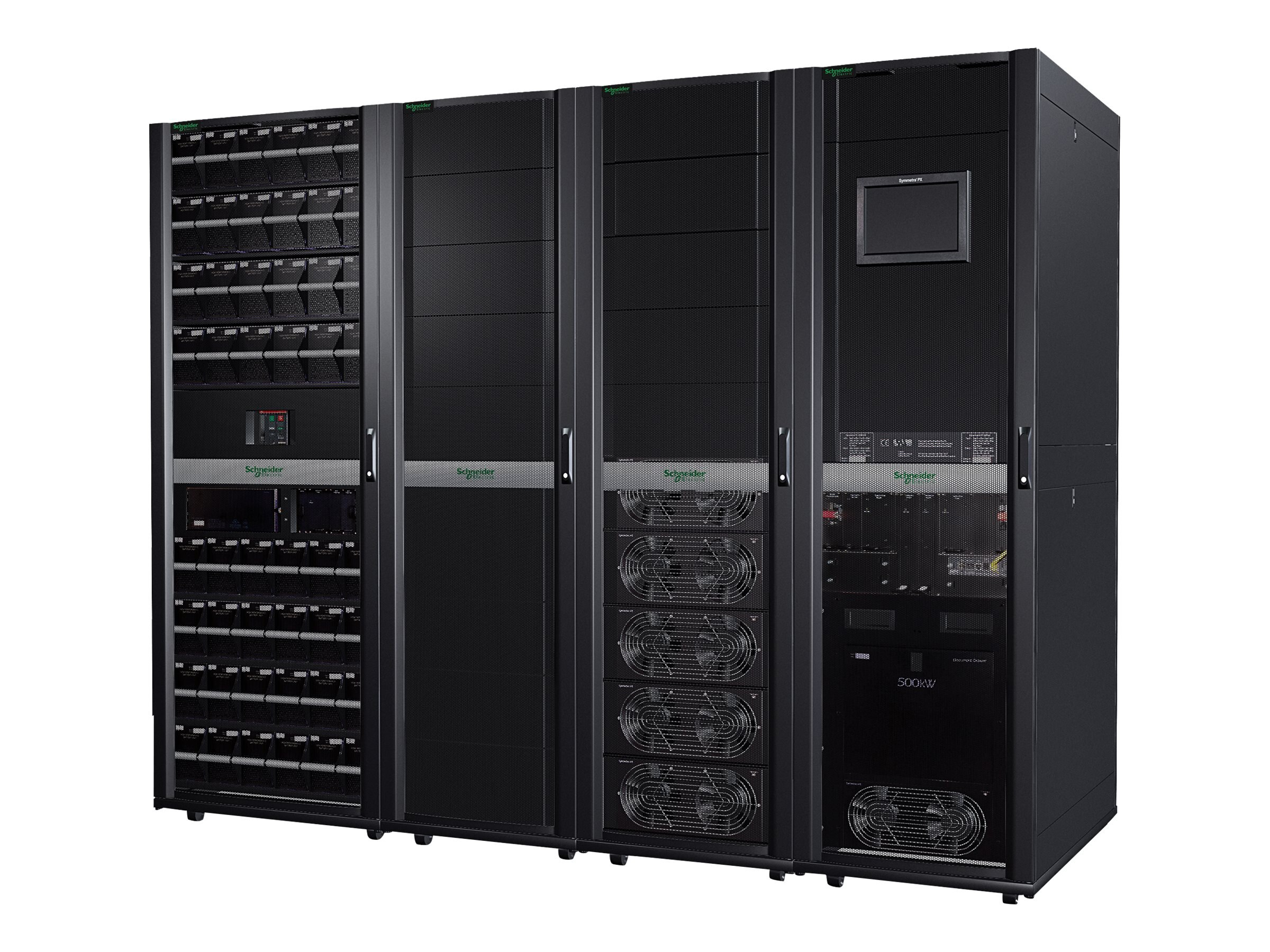 APC Symmetra PX 125kW Scalable to 500kW w o Maintenance Bypass & Distribution-Parallel Capable, SY125K500D, 16920303, Battery Backup/UPS