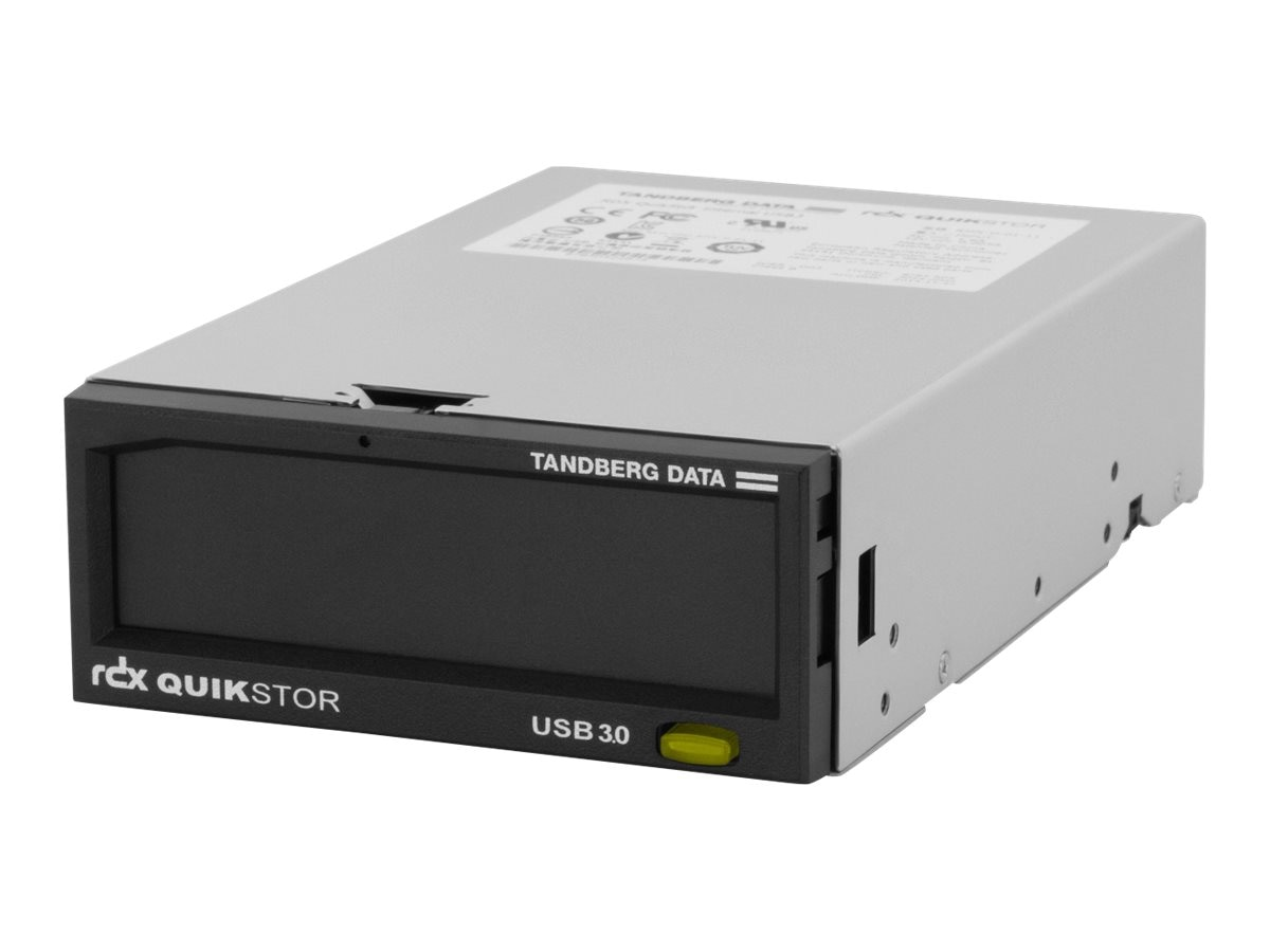 Tandberg Data RDX QuickStor USB 3.0 3.5 Internal Drive, 8785-RDX, 18171191, Removable Drives